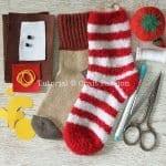 Çoraptan Ren Geyiği Nasıl Yapılır? 2