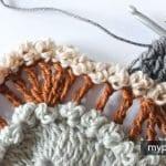 Fıstıklı Zikzak Örgü Modeli Yapılışı 15