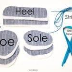 Kumaştan Bebek Ayakkabısı Nasıl Yapılır? 15