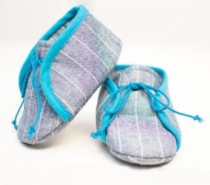 Kumaştan Bebek Ayakkabısı Nasıl Yapılır?