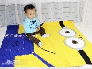 Minion Battaniye Yapılışı 8