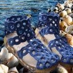 Örgü Ayakkabı Modelleri ve Yapılışları 16