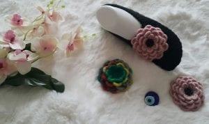 Örgü Çiçek Örnekleri 1