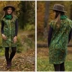 Yün Keçeden Elbise Nasıl Yapılır? 10