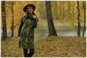 Yün Keçeden Elbise Nasıl Yapılır? 15