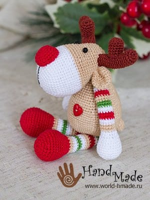 Leithygurumi: Amigurumi Christmas Reindeer Free Pattern - Design ...   400x300