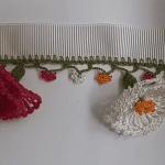 Çiçekli Tığ Oyası Örnekleri
