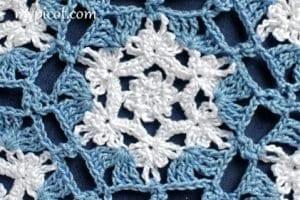 Kar Tanesi Battaniye Yapımı 12