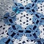 Kar Tanesi Battaniye Yapımı 13