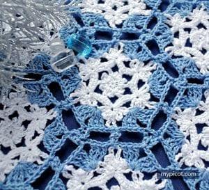 Kar Tanesi Battaniye Yapımı