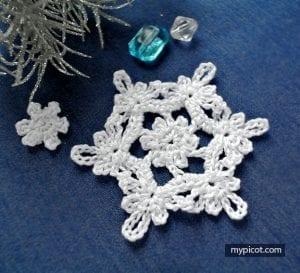 Kar Tanesi Battaniye Yapımı 16