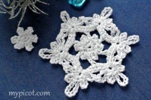 Kar Tanesi Battaniye Yapımı 8