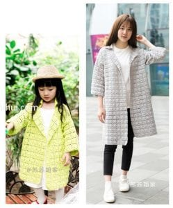 Kız Çocuk Örgü Modelleri ve Yapılışı