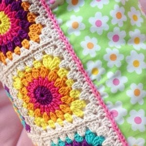 Örgü Bebek Battaniye Modelleri Anlatımlı 5
