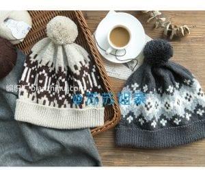Şiş Örgü Şapka Modelleri 1