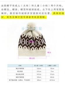 Şiş Örgü Şapka Modelleri