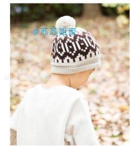 Şiş Örgü Şapka Modelleri 5