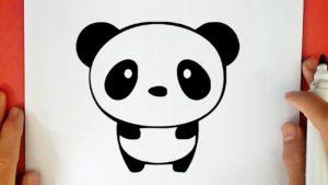 Kolay Panda Çizimi