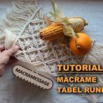 Makrome Runner Nasıl Yapılır 1