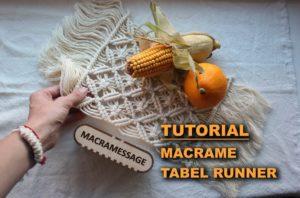 Makrome Runner Nasıl Yapılır?