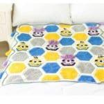 Örgü Bebek Battaniye Modelleri Yapılışı 13