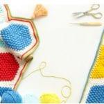 Örgü Bebek Battaniye Modelleri Yapılışı 14