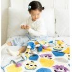 Örgü Bebek Battaniye Modelleri Yapılışı 20