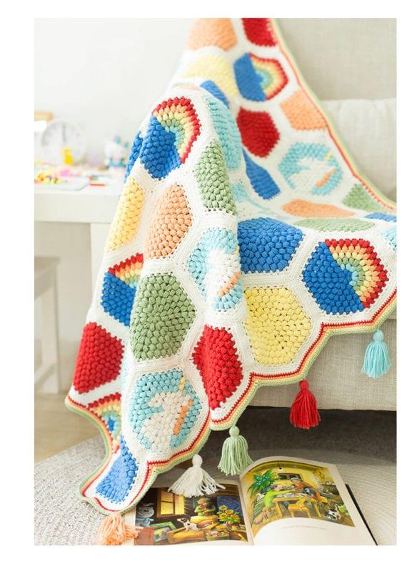 Örgü Bebek Battaniye Modelleri Yapılışı 21