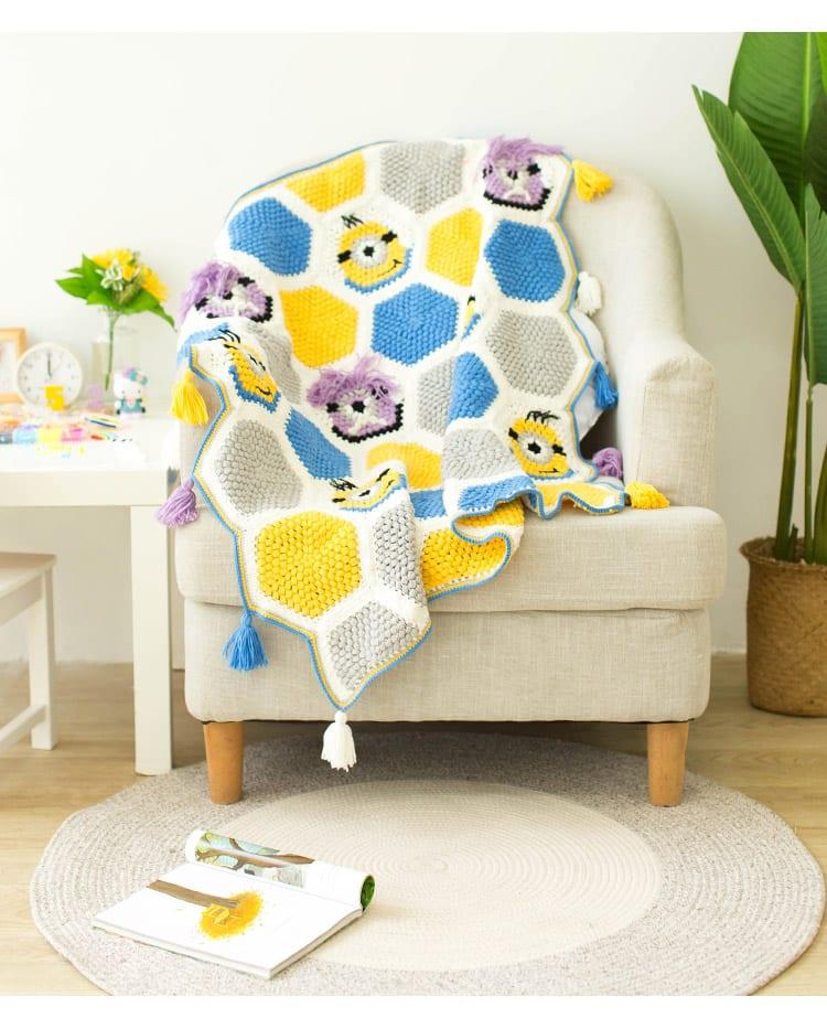 Örgü Bebek Battaniye Modelleri Yapılışı 22