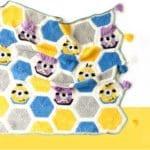 Örgü Bebek Battaniye Modelleri Yapılışı 9