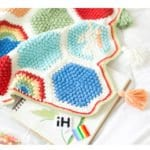 Örgü Bebek Battaniye Modelleri Yapılışı 11