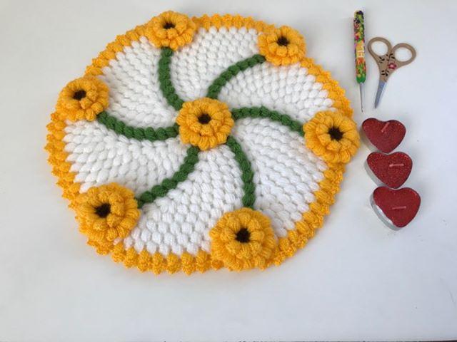 Sarı Çiçek Bahçesi Lif Modeli