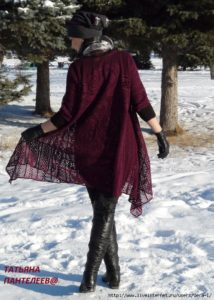 Tığ İşi Dantel Elbise Yapılışı 1