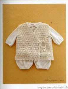 Yeni Doğmuş Bebek Yelekleri Örgü 9