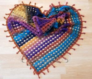 Alize Batik İple Şal Modelleri