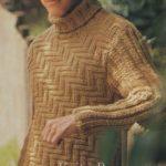 Boğazlı Erkek Kazak Örgü Modelleri