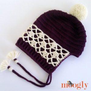 Dantelli Şapka Nasıl Örülür? 2