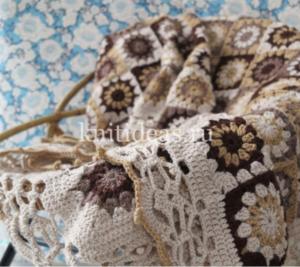 En Güzel Bebek Battaniye Modelleri Örgü 2
