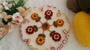 Güz Gülleri Lif Yapımı 3