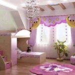 Bebek Odası Perdeleri ve Fon Çeşitleri 14