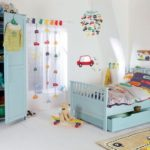 Bebek Odası Perdeleri ve Fon Çeşitleri 47