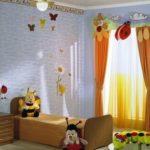 Bebek Odası Perdeleri ve Fon Çeşitleri 53