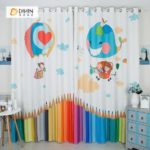 Bebek Odası Perdeleri ve Fon Çeşitleri 22