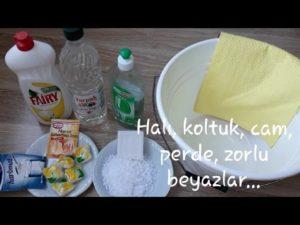 Ev Temizliği için Doğal Temizlik İpuçları