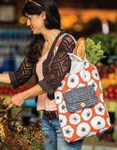 Katlanabilir Bez Çanta Yapımı