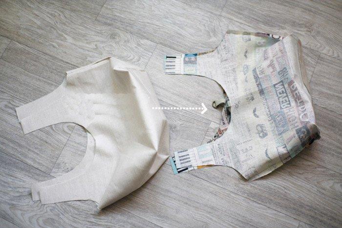 Kumaş Çanta Dikimi 12