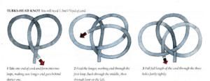Örgü Düğüm Yastık Yapımı 13