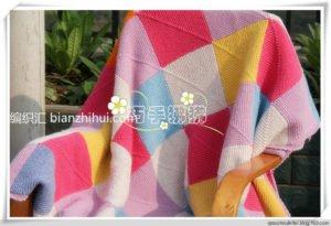 Rubik Küp Battaniye Yapımı