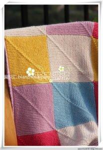 Rubik Küp Battaniye Yapımı 8