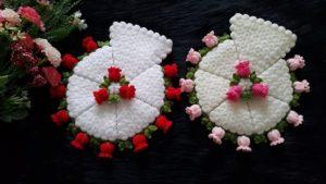 Suzan'ın Çiçek Bahçesi Kese Lif Yapılışı